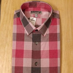 NWT Express Dress Shirt M